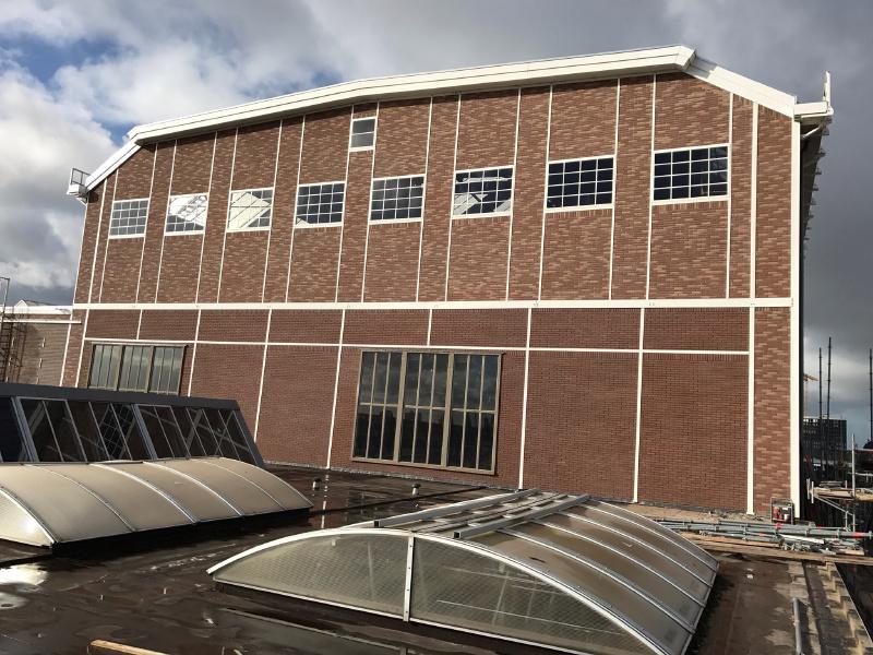 Renovatie NDSM Scheepsbouwloods