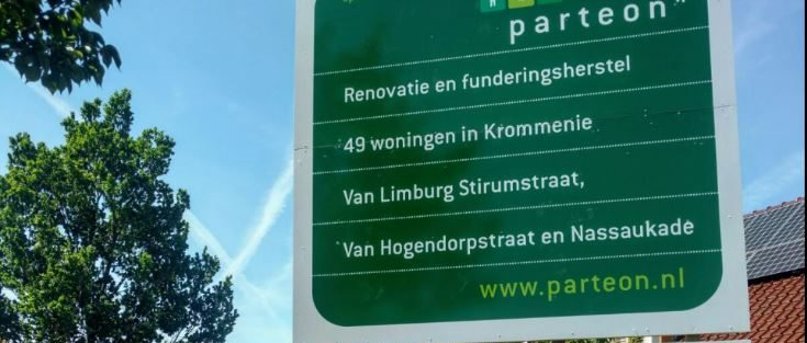 Start renovatie Van Limburg Stirum-, Van Hogendorpstraat en Nassaukade Krommenie