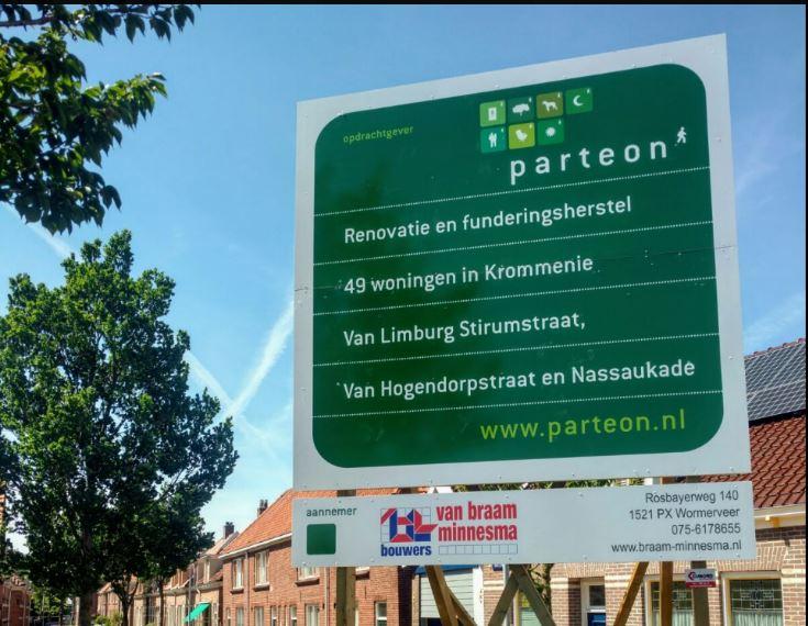 Start renovatie Van Limburg Stirum-, Van Hogendorpstraat en Nassaukade Krommenie