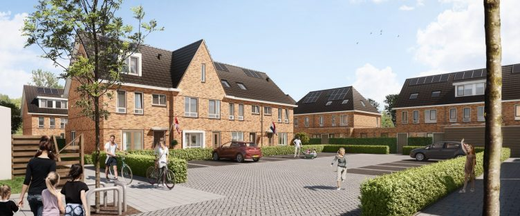 Start verkoop 23 woningen Vaartzicht Westzaan
