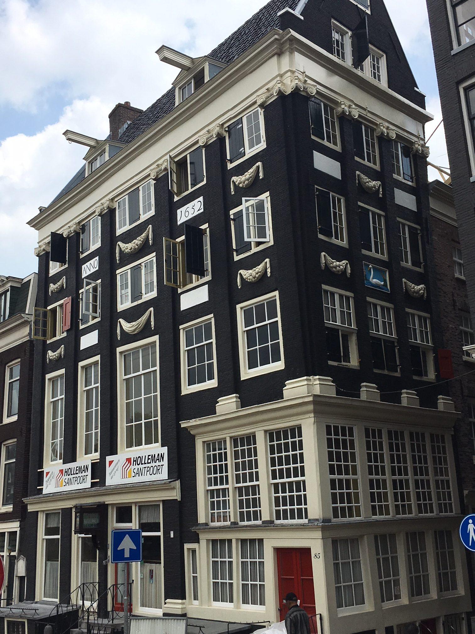 Aannemingsovereenkomst Hotel de Singel Amsterdam