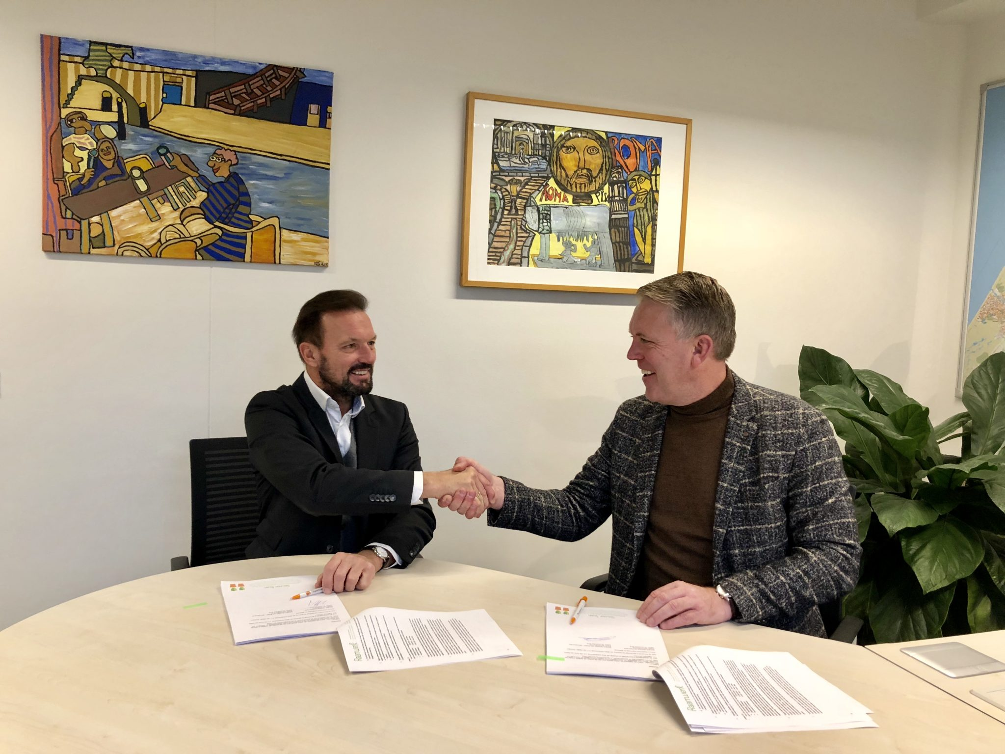 Bouwteamovereenkomst Stichting Raamwerk