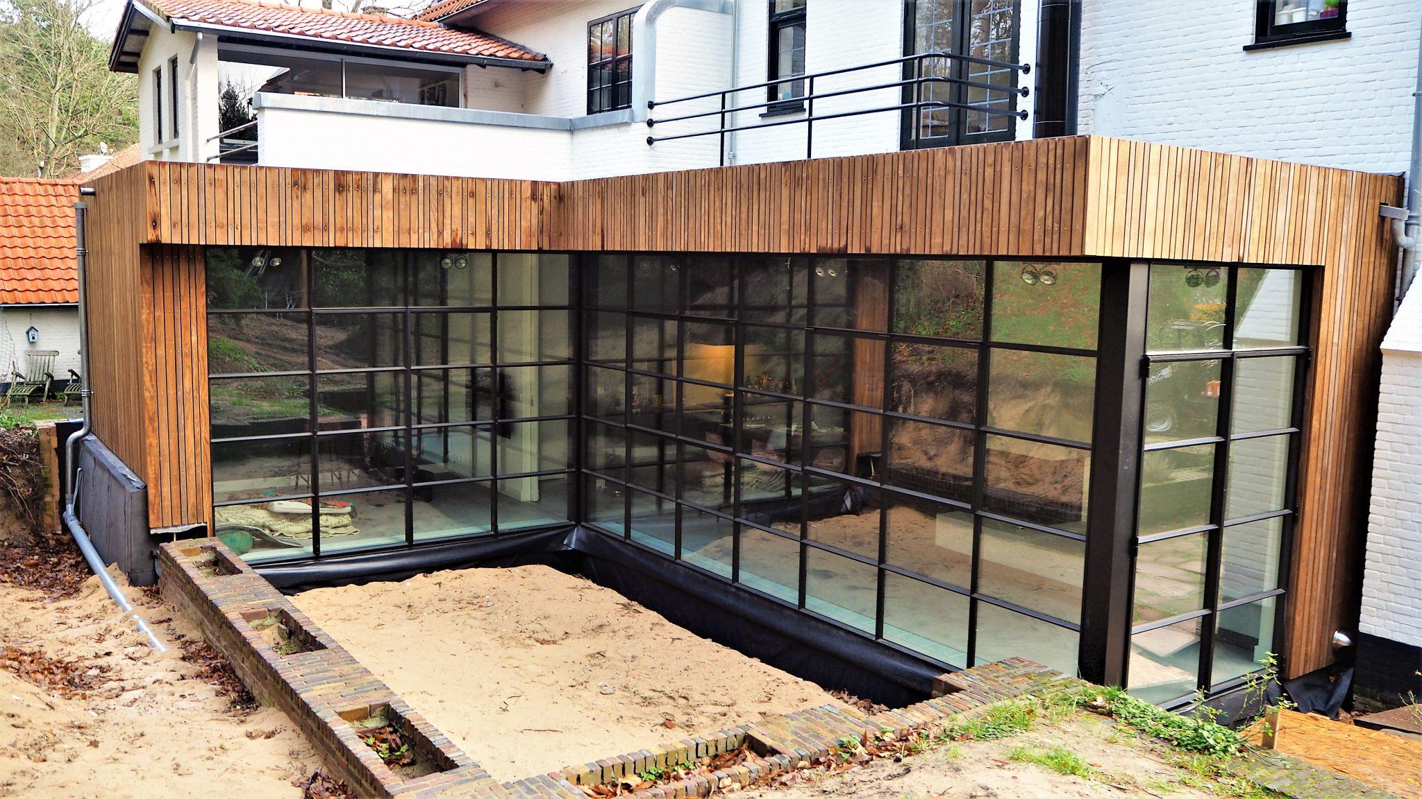 Aanbouw woonhuis Overveen