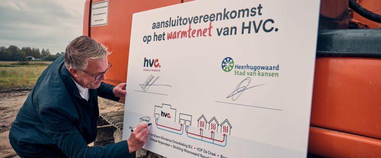 Bijna 800 woningen in De Draai Zuid aangesloten op warmtenet HVC