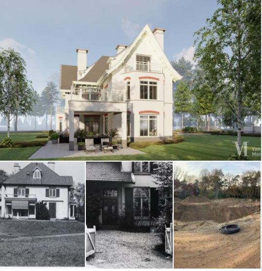Start nieuwbouw villa Aerdenhout