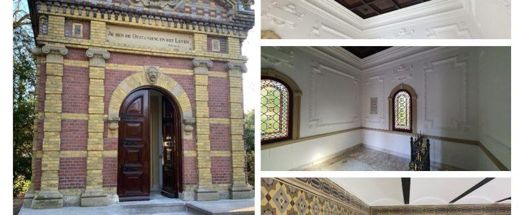 Restauratie grafkapel Van Vollenhoven afgerond