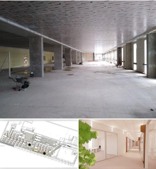 Start inbouw Zorgcentrum Heros