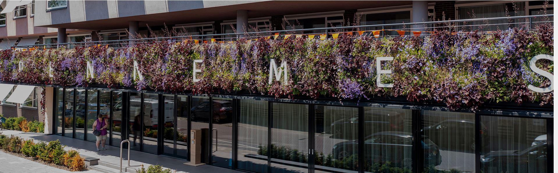 Duurzaam balkon zorgcentrum Pennemes
